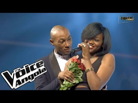 "Valércya Nzollani canta ""Just the Way You Are"" / The Voice Angola 2015 / Show ao Vivo 2"