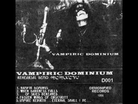 Vampiric Dominium - Frozen Winds of Obscurity (1996) (Underground Raw Black Metal Puerto Rico)
