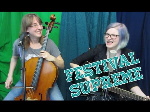 Theme song for Festival Supreme and Tenacious D contest - The Doubleclicks
