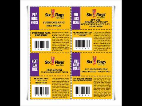 Discount coupons for six flags over texas
