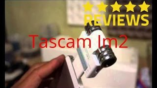 Tascam iM2 Mini Review & Audio Test transformar tu iphone en grabadora