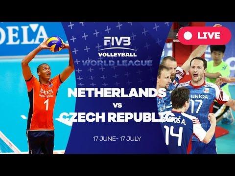 Netherlands v Czech Republic - Group 2: 2016 FIVB Volleyball World League