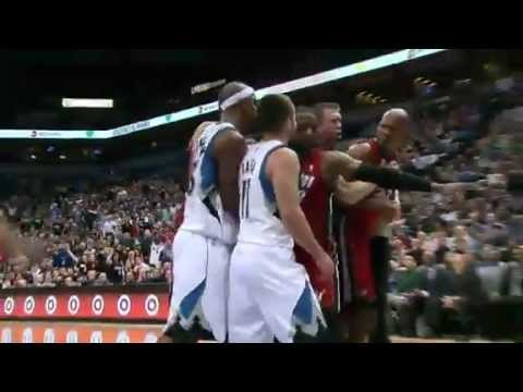NBA CIRCLE - Miami Heat Vs Minnesota Timberwolves Highlights 4 March 2013 www.nbacircle.com