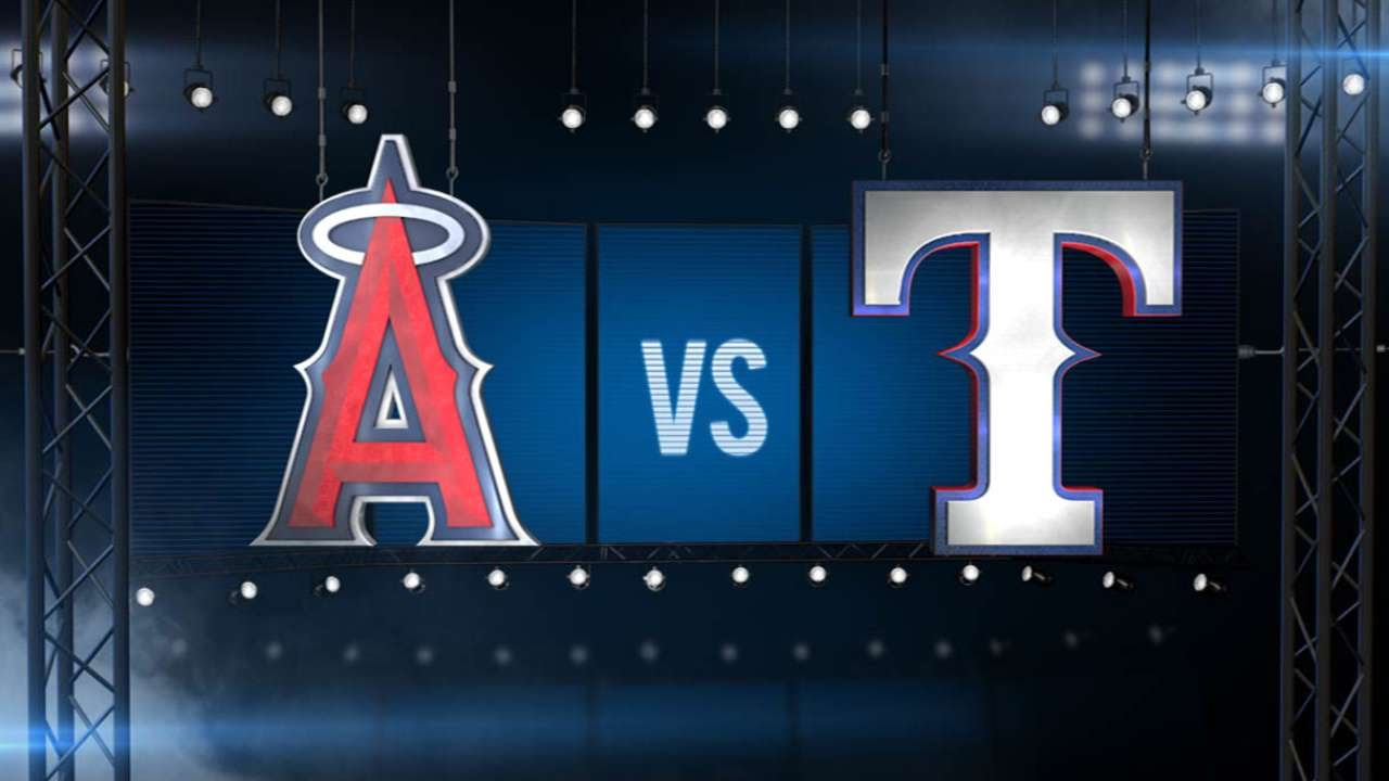 7/3/15: Richards, early scoring lead Halos to 8-2 win
