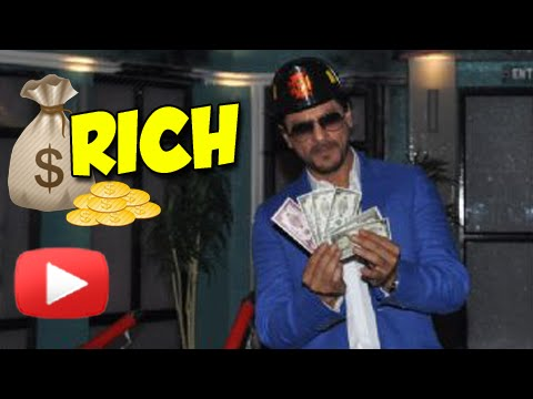 Shahrukh Khan Is The Richest Bollywood Celebrity