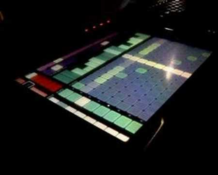 my max/msp lemur sequencer Video