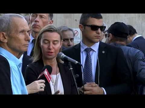 Mogherini with Tzipi LIVNI, Israeli Minister of Justice