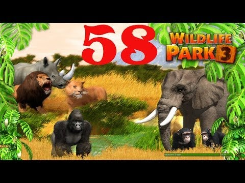 Wildlife Park 3 - #58 Kampagne NIGERIA (1) Monkey Island (Deutsch) Let's Play Wildlife Park 3