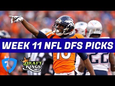 Week 11 NFL DraftKings + FanDuel Picks & Preview