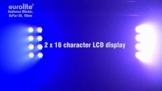 EUROLITE Audience Blinder, 8xPar-36, 10mm LED