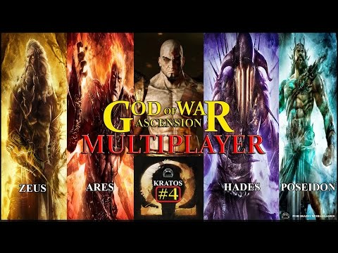 GoW: Ascension Multiplayer Marcas do Guerreiro, novos Gears e novo Deus? AM#4?