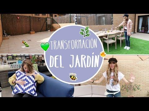 Transformación de mi jardín - Vanesa Romero TV