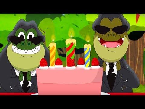 Юху и его друзья - все серии про Упса и Купса🐊 - сборник - веселый мультфильм для детей