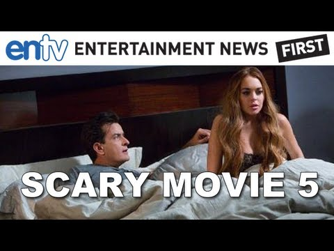 Charlie Sheen & Lindsay Lohan Scary Movie 5 Sex Scene Spoilers! Entv video