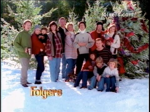 Rockapella HOLIDAY FOLGERS Commercial - :45 & :30