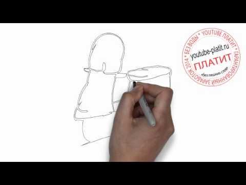 Видео как нарисовать спорт карандашом поэтапно