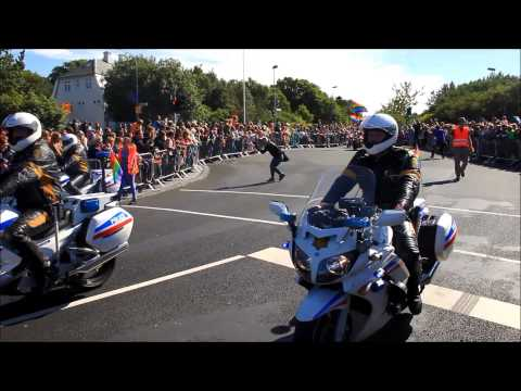 Gay Pride festival in Reykjavik Iceland today august 2014 video