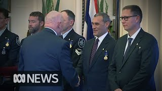 Thai cave rescue: Australian divers who helped free Thai soccer team receive bravery awards