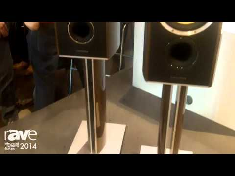 ISE 2014: Bowers & Wilkins Features 805 Maserati Limited Edition Loudspeakers