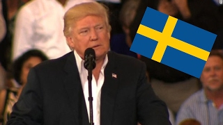 Trump Cites Fake Terror Attack In Sweden