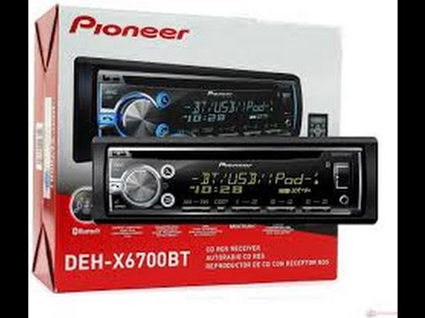 Pioneer DEH X6700BT Bluetooth Stereo Receiver Review