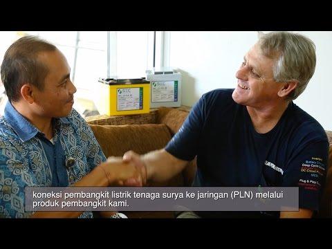 SEC signs net metering grid tie agreement in Indonesia