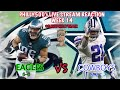 Lagu Eagles VS Cowboys Live Reaction!!! Battle In Big D...SavePhillysHair