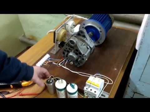 Подбор рабочего конденсатора к трехфазному электродвигателю.