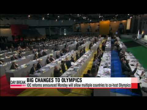 Sweeping new IOC reforms will allow multiple countries to co-host Olympics   IOC