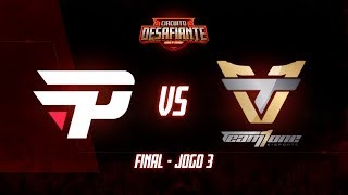 Circuitão 2019: paiN Gaming x Team One (Jogo 3) | Final - 1ª Etapa