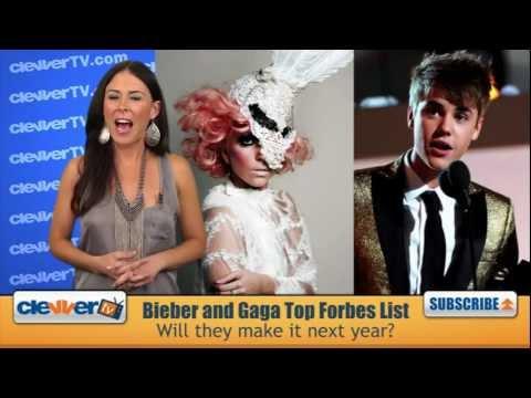 Justin Bieber & Lady Gaga Top Forbes List