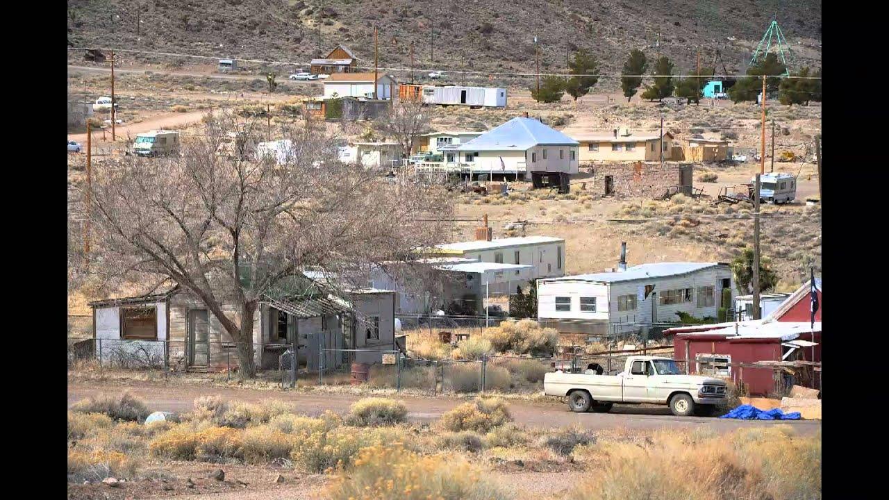 Area 51 Nevada >> Tonopah and Goldfield, Nevada, 3/14/2010 - YouTube