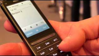 Nokia C3-01 Touch and Type (FR), prsentation  Nokia World 2010 par Test-Mobile.fr