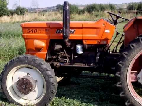TRACTOR FIAT 540 DT SPECIAL in fienagione 2010