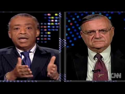 Sheriff Joe Arpaio Pimp Slaps Infamous Douche Bag Al Sharpton