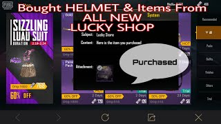 Buying Items from Lucky SHOP in Pubg Mobile | Free and Low Cost Items in LUCKY SHOP ( Hurry buy IT)