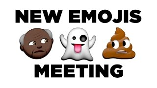 The New Emojis Have a Meeting