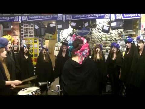 Gaggle - Warpigs (black sabbath cover) - at Banquet Records