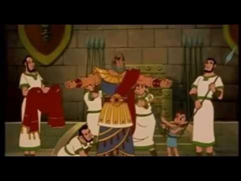Król Dawid-Film Biblijny Historyczny Animowany Lektor