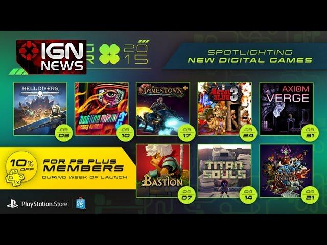 Sony Announces 8-Week PSN Sale - IGN News