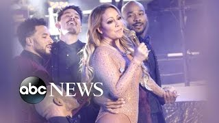 Mariah Carey NYE Performance Sparks Blame Game