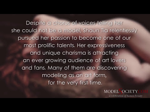 Shantia Veney On How To Be A Model - Shaun Tia And The Art Of Sensual Nude Modeling video