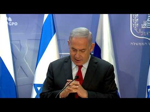 PM Netanyahu Meets Secretary of the Russian National Security Council, Nikolai Patrushev