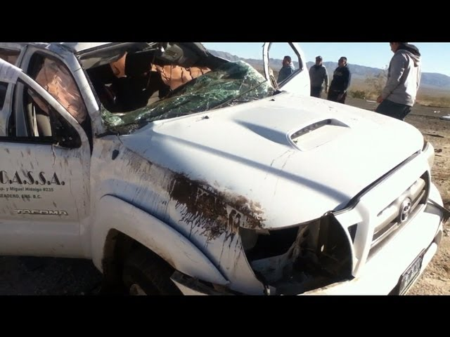 Accidente Ensenada - San Felipe 250 2012