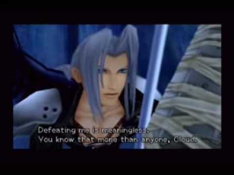 Kingdom Hearts II - Sephiroth Battle