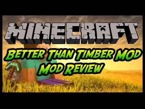 Minecraft - Tree Capitator Mod Review for 1.5.2 (+Download)