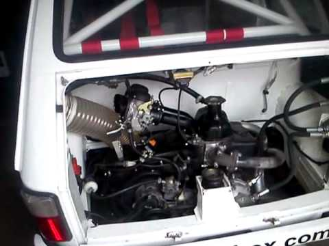 Fiat 126 Group 2 Rally Engine