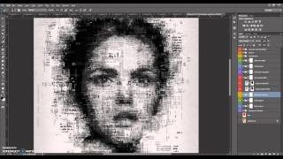 Newspaper Art Photoshop Effect Tutorial