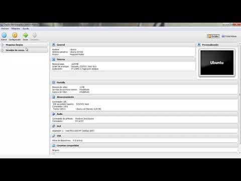 Descargar la ultima version de virtualbox e instalarla