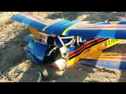 SEAGULL ULTIMATE BIPLANE crash Huatabampito Beach Sonora Mexico
